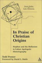 In Praise of Christian Origins cover