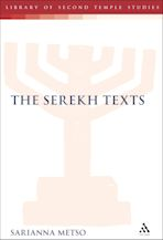 The Serekh Texts cover
