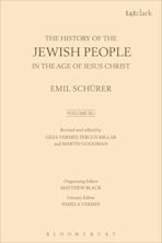 The History of the Jewish People in the Age of Jesus Christ: Volume 3.i cover