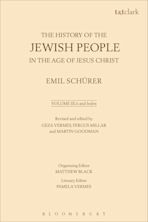 The History of the Jewish People in the Age of Jesus Christ: Volume 3.ii and Index cover