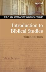 Introduction to Biblical Studies cover