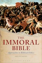 The Immoral Bible cover