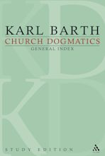 Church Dogmatics Study Edition General Index cover