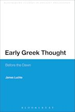 Early Greek Thought cover