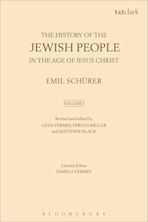 The History of the Jewish People in the Age of Jesus Christ: Volume 1 cover
