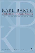 Church Dogmatics Study Edition 29 cover