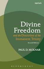 Divine Freedom and the Doctrine of the Immanent Trinity cover