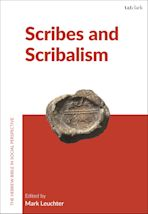 Scribes and Scribalism cover