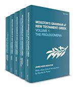 Moulton's Grammar of New Testament Greek cover