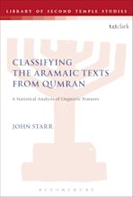 Classifying the Aramaic Texts from Qumran cover