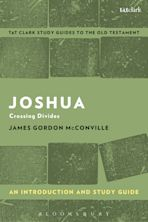 Joshua: An Introduction and Study Guide cover