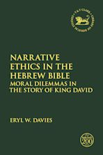 Narrative Ethics in the Hebrew Bible cover