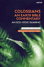 Colossians: An Earth Bible Commentary cover