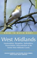Where to Watch Birds in the West Midlands cover