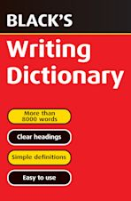 Black's Writing Dictionary cover