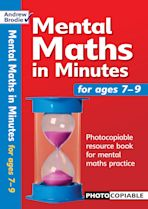 Mental Maths in Minutes for Ages 7-9 cover