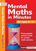 Mental Maths in Minutes for Ages 9-11 cover