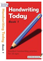 Handwriting Today Book 1 cover