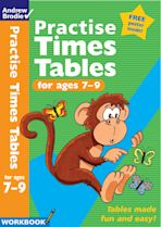Practise Times Tables for ages 7-9 cover