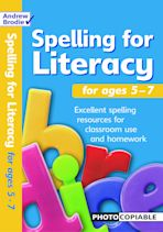 Spelling for Literacy for ages 5-7 cover