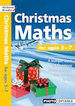 CHRISTMAS MATHS for ages 5-7 cover