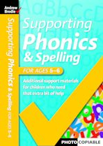 Supporting Phonics and Spelling for ages 5-6 cover