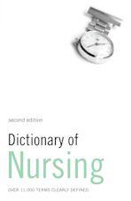 Dictionary of Nursing cover