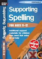 Supporting Spelling 11-12 cover