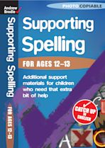 Supporting Spelling 12-13 cover