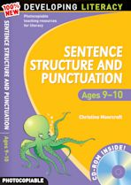 Sentence Structure and Punctuation: Ages 9-10 cover