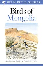Birds of Mongolia cover