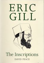 Eric Gill The Inscriptions cover