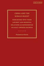 China and the Roman Orient cover