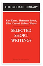 Selected Short Writings cover