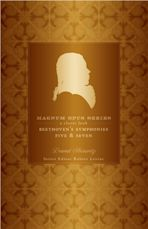Beethoven's Fifth and Seventh Symphonies cover