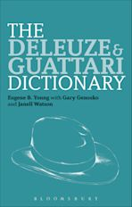 The Deleuze and Guattari Dictionary cover