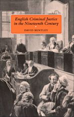 English Criminal Justice in the 19th Century cover