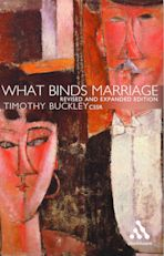 What Binds Marriage cover