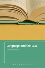 Language and the Law cover