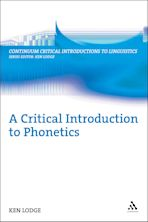 A Critical Introduction to Phonetics cover