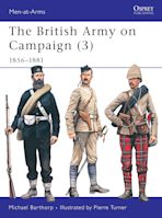 The British Army on Campaign (3) cover