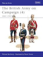 The British Army on Campaign (4) cover