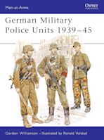 German Military Police Units 1939–45 cover