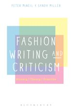 Fashion Writing and Criticism cover