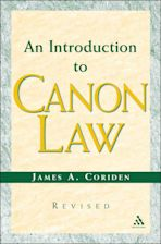 An Introduction to Canon Law Revised Edition cover