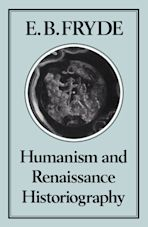 Humanism and Renaissance Historiography cover