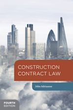 Construction Contract Law cover