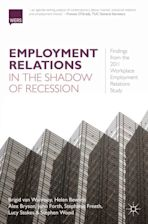 Employment Relations in the Shadow of Recession cover