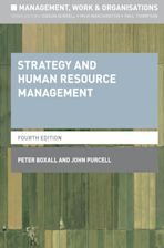 Strategy and Human Resource Management cover