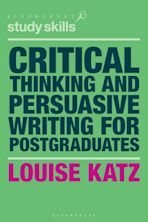 Critical Thinking and Persuasive Writing for Postgraduates cover
